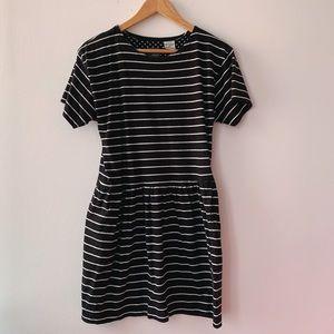 Vintage Petite Striped Dress